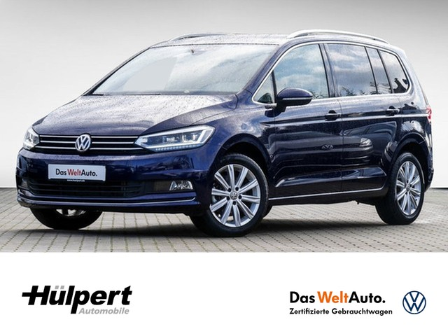 Volkswagen Touran 2.0 TDI Highline LED ALU17 PDC FRONT ASSIST, Jahr 2019, Diesel