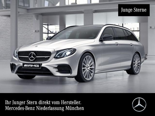 "Mercedes-Benz E 53 AMG T 4M+ Night Driver Fahrass Pano 20"", Jahr 2018, petrol"