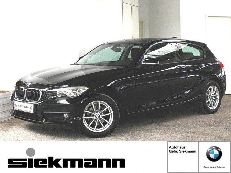 BMW 116i 3-Türer Navigation BT USB CD Tempomat AHK, Jahr 2017, Benzin