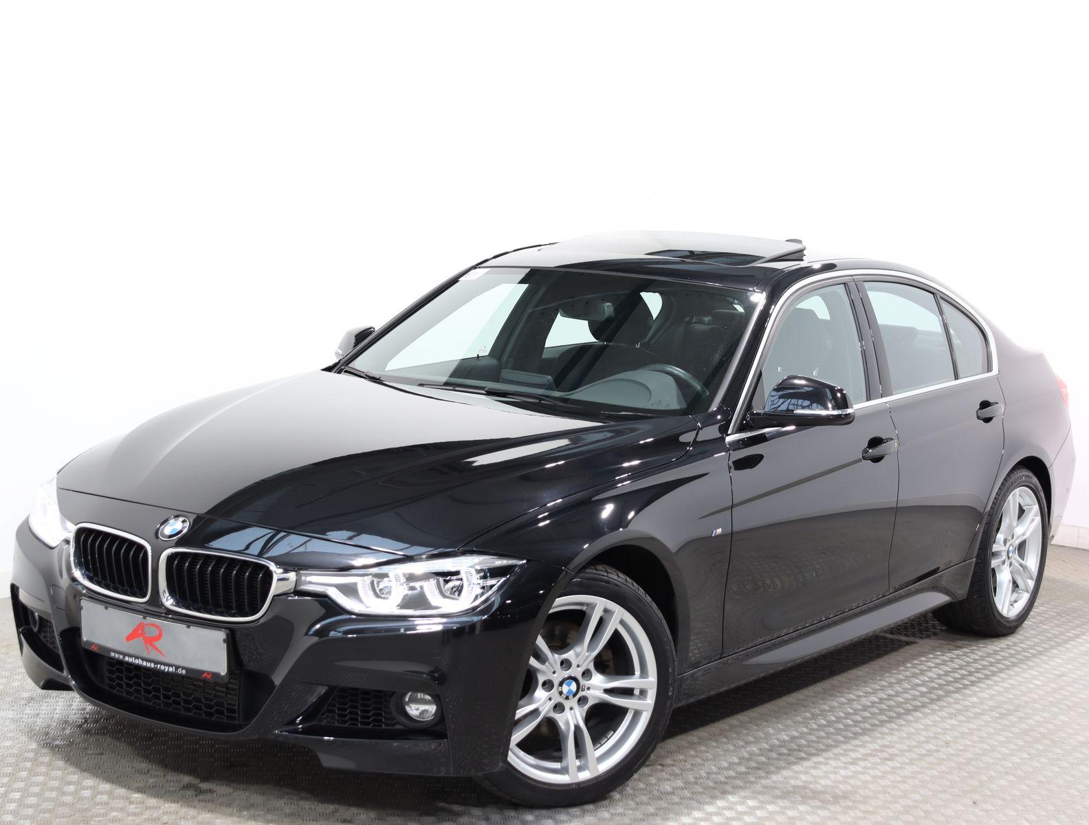 BMW 320 d M SPORT NAVI,GLASDACH,KEYLESSGO,SCHECKHEFT, Jahr 2017, Diesel