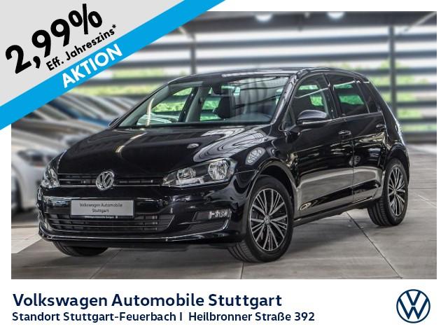 Volkswagen Golf VII 1.6 TDI Allstar Navi Tempomat, Jahr 2016, Diesel