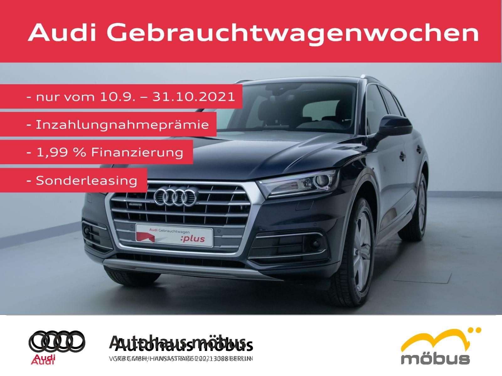 Audi Q5 sport 40 TDI QU*S-TRO*ASSIST*PAN*AHK*NAVI*SHZ, Jahr 2020, Diesel