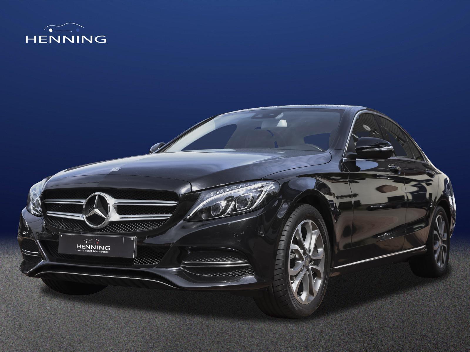 Mercedes-Benz C 180 Avantgarde 6-Gang Comand LED Parktronic, Jahr 2014, Benzin