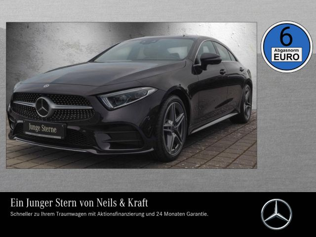 Mercedes-Benz CLS 450 4M AMG+VOLL ASSISTENZ+WENIG KM+360°+WIDE, Jahr 2018, Benzin