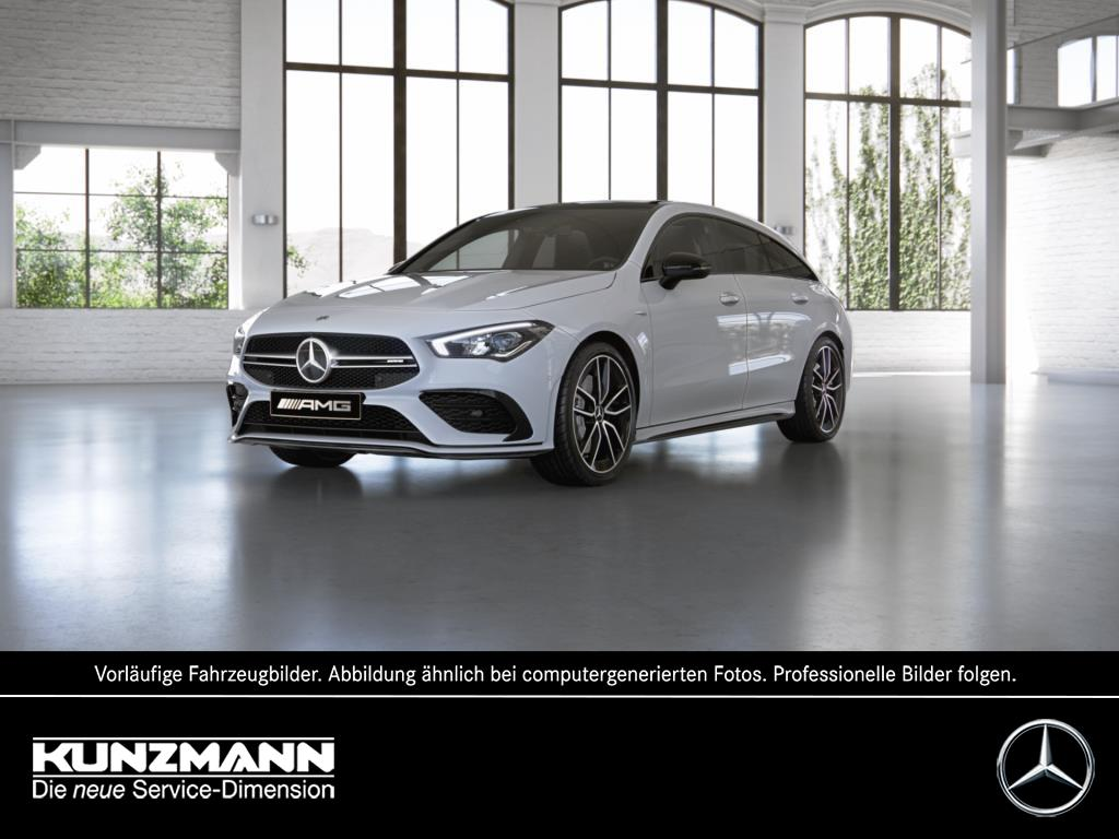 Mercedes-Benz AMG CLA 35 4MATIC Shooting Brake Night, Jahr 2021, Benzin