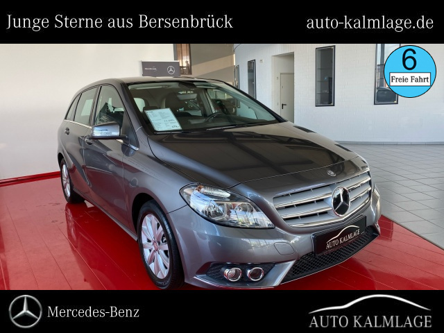 Mercedes-Benz B 180 AHK+Sitzheizung+Navi Klima/MF-Lenkrad/R-CD, Jahr 2014, Benzin