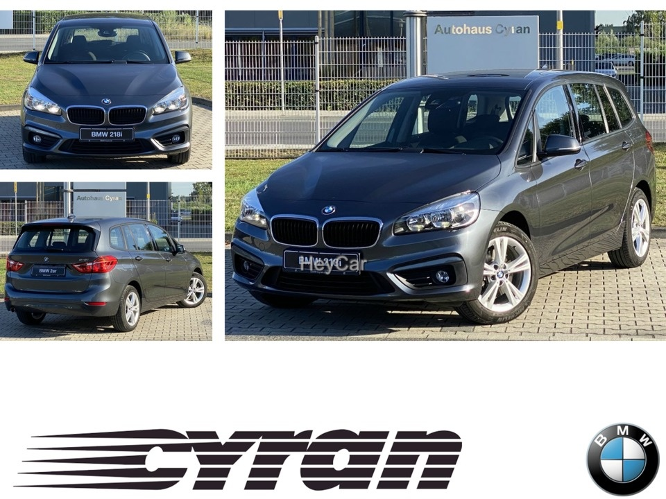 BMW 218 Gran Tourer 7-Sitzer kamera Navi Sitzhzg., Jahr 2016, Benzin