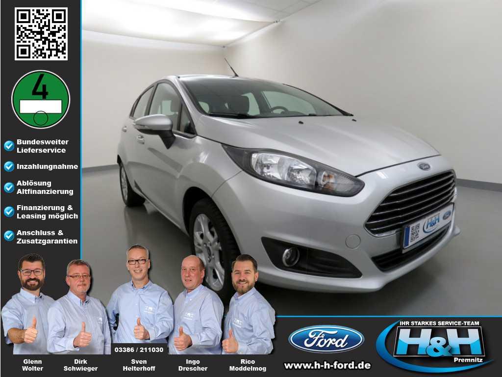 Ford Fiesta 1.0 EcoBoost Trend (Allwetter+USB+PPS), Jahr 2013, Benzin