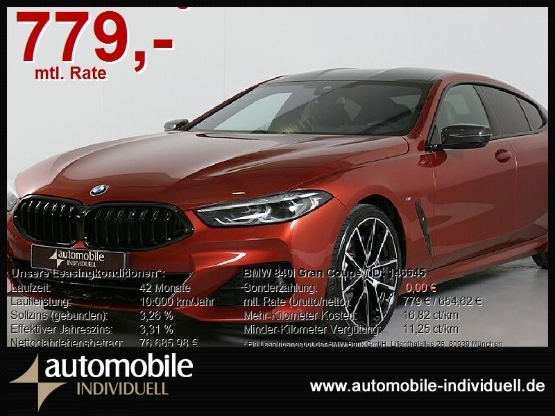 BMW 840i Gran Coupé M Sportpaket WIR SIND FÜR SIE DA, Jahr 2020, Benzin