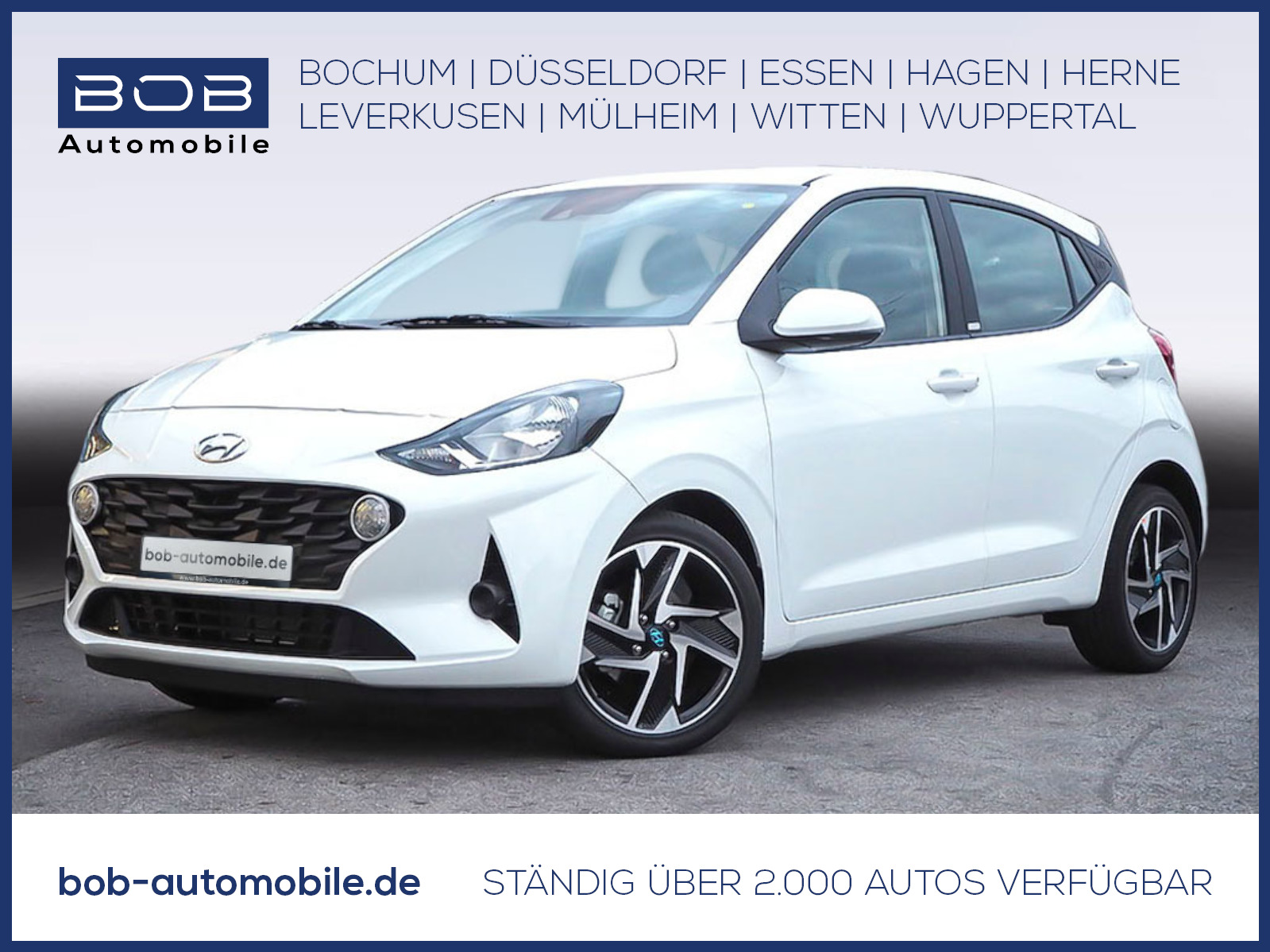 "Hyundai i10 1.2 Trend KomfortP NaviP 16""Alu Kamera SHZ, Jahr 2020, petrol"
