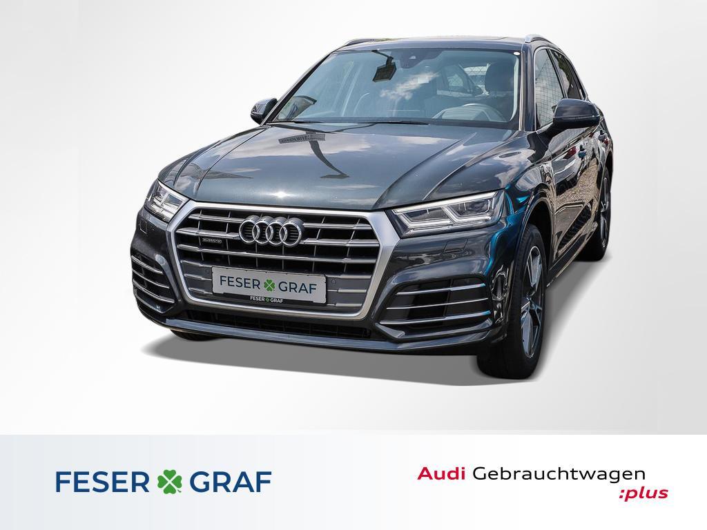 Audi Q5 2.0 TDI qu S tronic S Line Ext Pano,HUD,LED,L, Jahr 2017, Diesel
