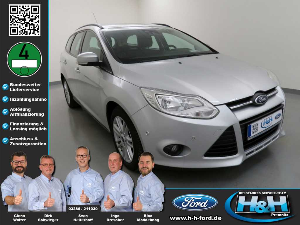 Ford Focus Turnier 2.0 TDCi Aut. SYNC Edition (AHK), Jahr 2014, Diesel