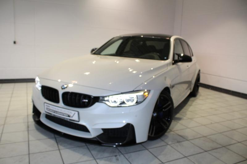 BMW M3 M DKG Navi Prof. M Drivers Package Klimaaut., Jahr 2017, petrol