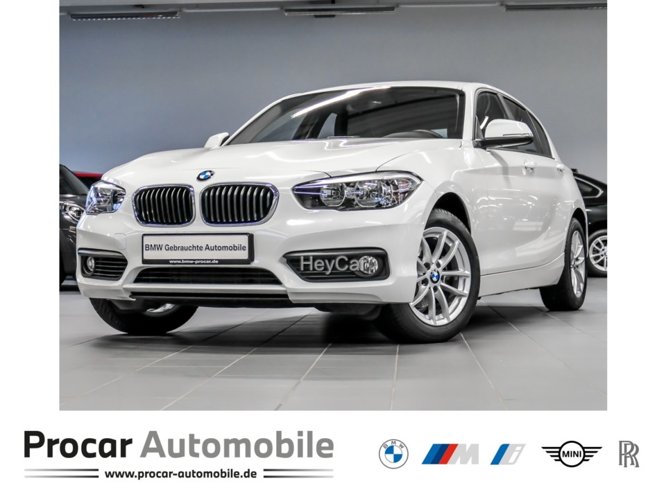 BMW 118i Advantage Aut. LM PDC Sitzhzg. FIN. AB 1%, Jahr 2018, Benzin