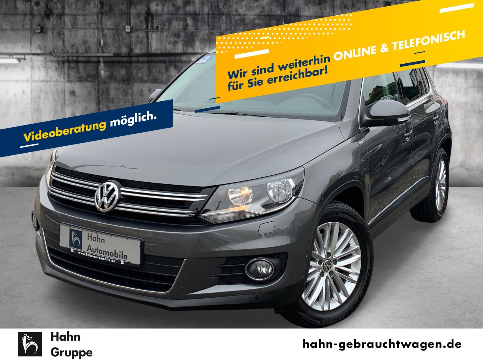 Volkswagen Tiguan Cup 1.4TSI DSG Sitzh Einpark Climatr BC, Jahr 2014, Benzin