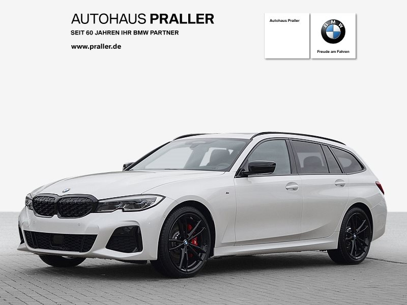 BMW M340d xDrive Touring 48V AHK HeadUp Glasdach VOLL, Jahr 2021, Hybrid_Diesel