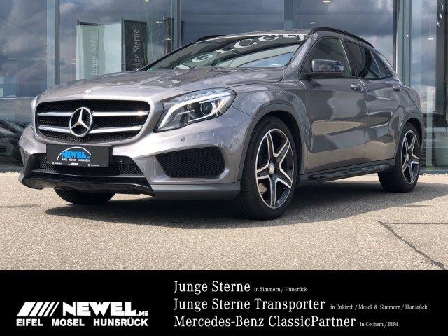 Mercedes-Benz GLA 250 4M AMG*NAVI*BI-XENON*HARMAN KARDON*NIGHT, Jahr 2014, Benzin
