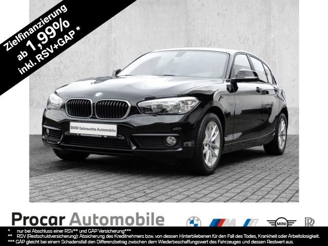 BMW 118i Advantage Navi Business AHK PDC LM NSW, Jahr 2018, Benzin