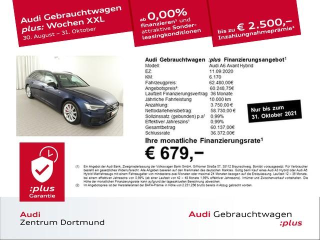 Audi A6 Avant 55TFSIe qu. S line/Matrix/ACC/eSitze/19Zoll, Jahr 2020, Hybrid