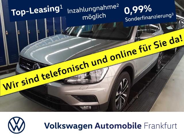 Volkswagen Tiguan 2.0 TDI Comfortline Navi Klima AHK LM-Felgen Tiguan 2.0 CLBMTFR 110TDIM6F, Jahr 2020, Diesel