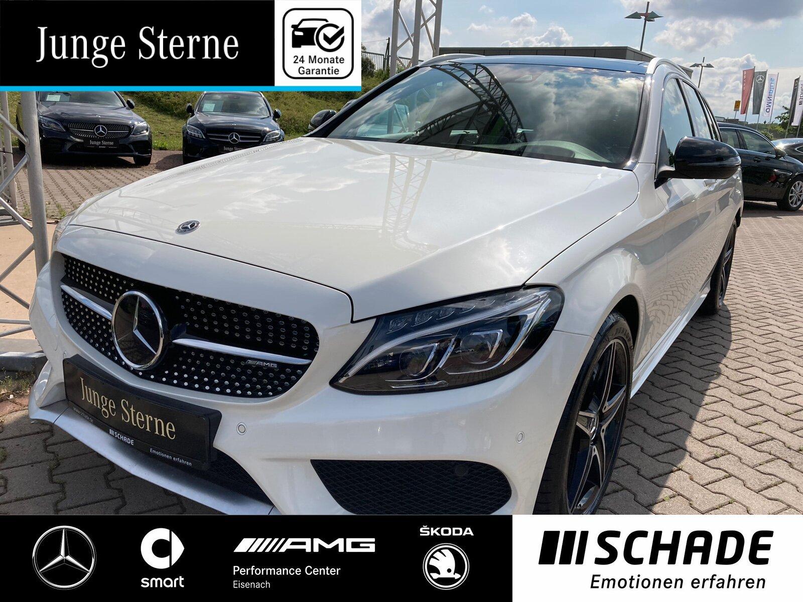 Mercedes-Benz C 43 AMG T 4M ILS*AHK*Head-Up*Panorama*Distronic, Jahr 2017, Benzin