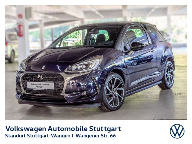 Citroën DS3 SportChic Navi Kamera GRA DAB SHZ, Jahr 2018, Benzin