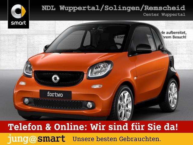 smart fortwo coupé 66kW passion DCT cool&Media SHZ LED, Jahr 2016, Benzin