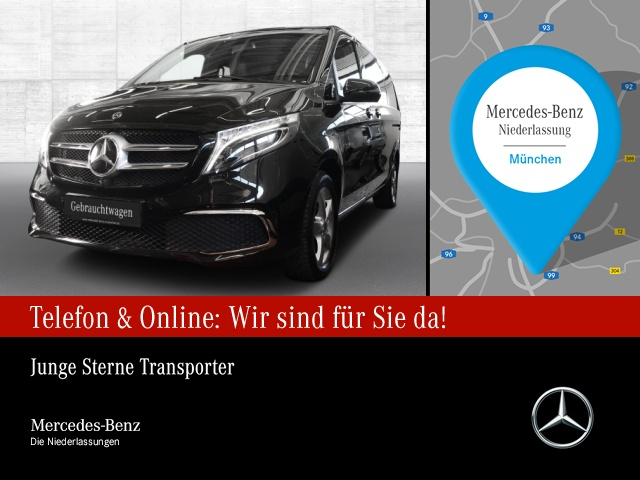 Mercedes-Benz V 250 d 4M AVANTGARDE Lang Comand Standhzg. RFK, Jahr 2019, Diesel