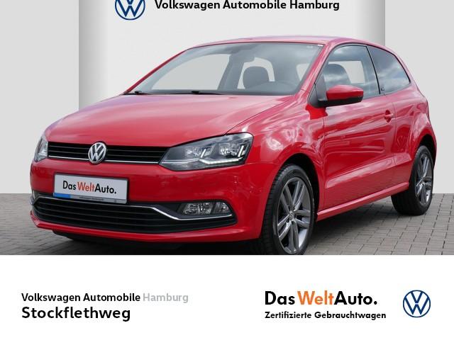 "Volkswagen Polo 1,0 Allstar LED Klima PDC 17"" Alu, Jahr 2017, petrol"