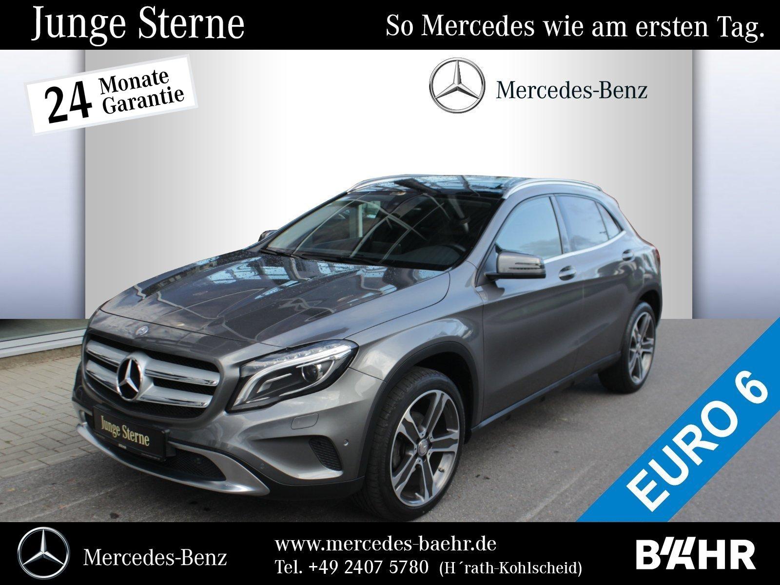 Mercedes-Benz GLA 220 d 4M Urban/Navi/Bi-Xenon/AHK/Pano/RFK, Jahr 2016, Diesel