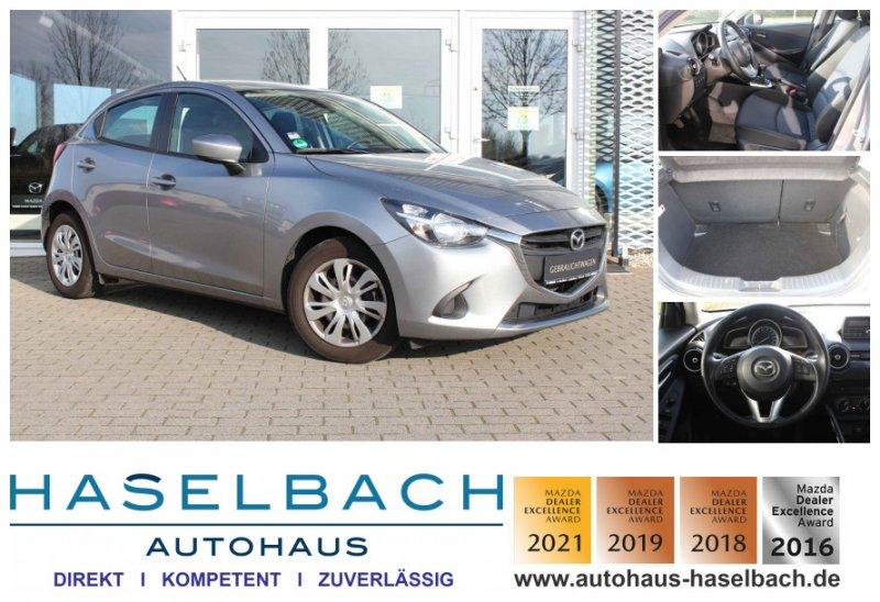 Mazda 2 Einparkhilfe*Sitzheizg*Klima*SH-gepflegt*1.Hand CENTER, Jahr 2015, Benzin