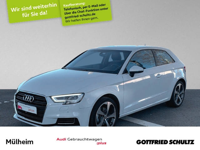 Audi A3 1.4 TFSI NAVI SIDE ASSIST EPH+MUFU+SIH+BLUETOOTH, Jahr 2017, Benzin