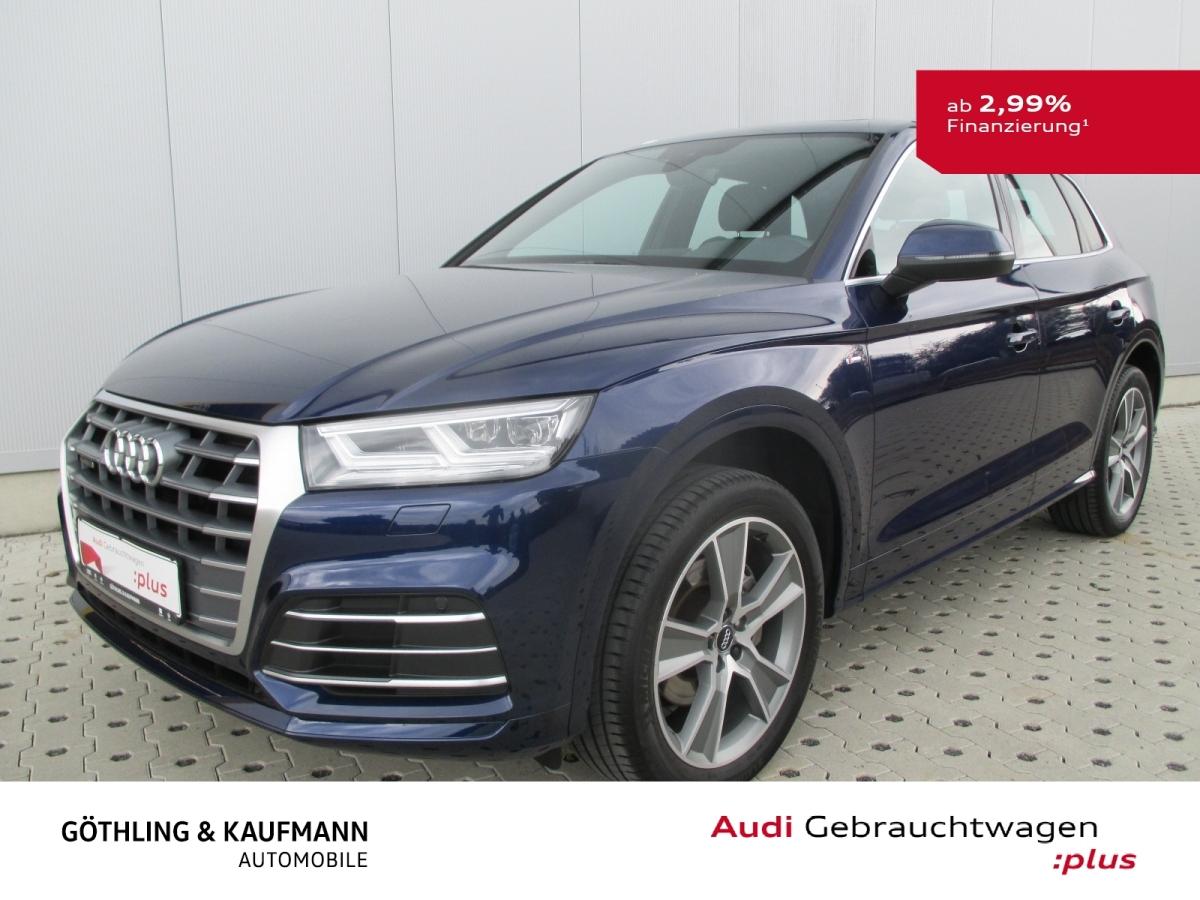 Audi Q5 2.0 TFSI*3x S Line*Pano*Matrix*Ambiente*Virtu, Jahr 2018, Benzin