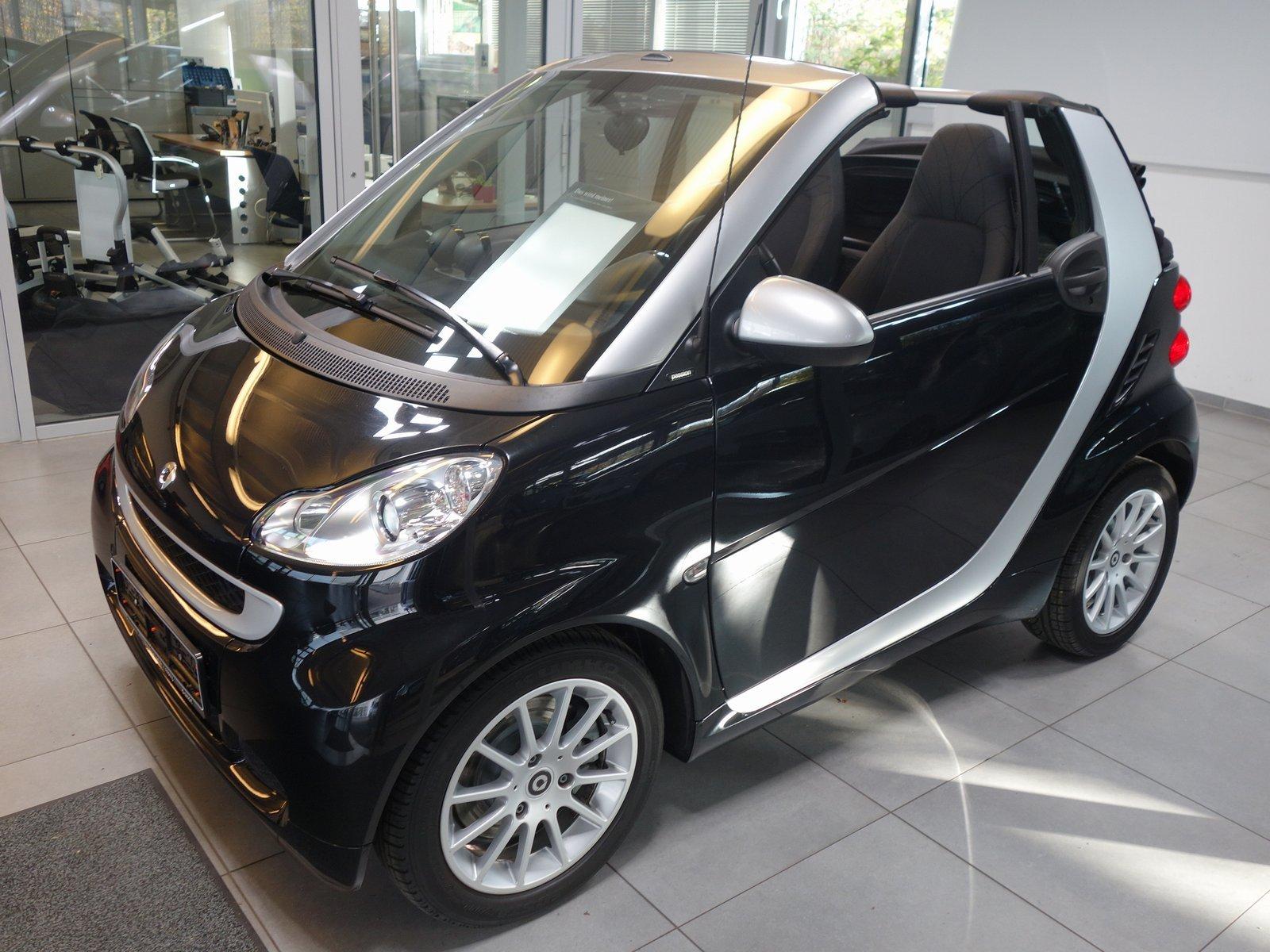 smart fortwo cabrio mhd Passion|Servo|Klima|Sitzheiz., Jahr 2012, Benzin