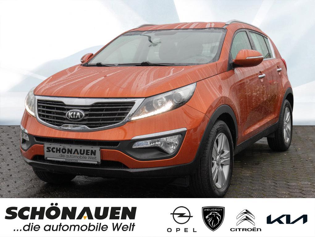 Kia Sportage 1.6 GDI 2WD VISION+SHZ+GRA+BT+KLIMA+PDC, Jahr 2014, Benzin