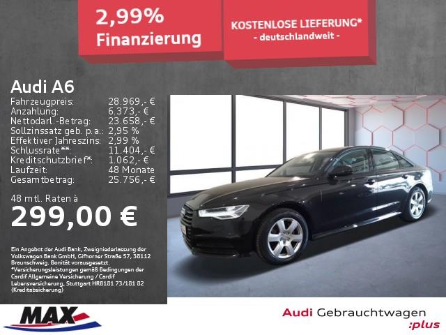 Audi A6 2.0 TDI S TRONIC MATRIX LED+NAVI+HUD+STANDHZG, Jahr 2017, Diesel