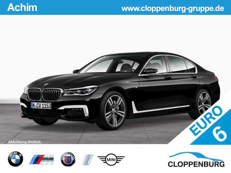 BMW 750i xDrive Limousine M Sportpaket Head-Up Navi ACC Laser, Jahr 2015, petrol
