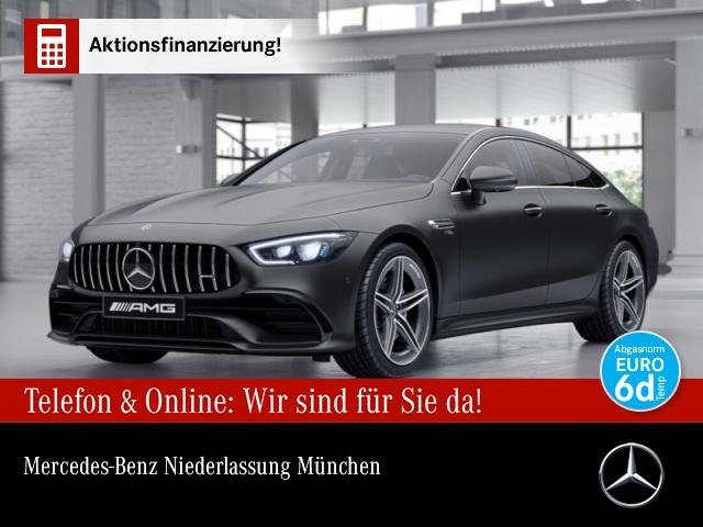 Mercedes-Benz AMG GT 53+ 4M Wide Distro. Sound Keyless Carbon, Jahr 2019, Benzin