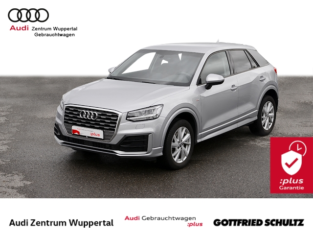 Audi Q2 1.0TFSI S-LINE LED SHZ PDC VO+HI MUFU BT 17ZOLL Sport, Jahr 2017, Benzin