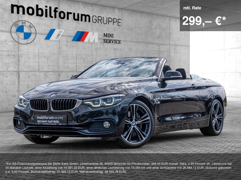 BMW 440i Sport Line, Jahr 2017, Benzin