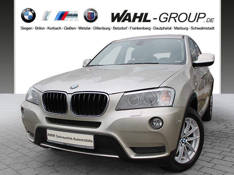 BMW X3 xDrive20d Automatik Xenon AHK Klima Shz PDC, Jahr 2013, diesel