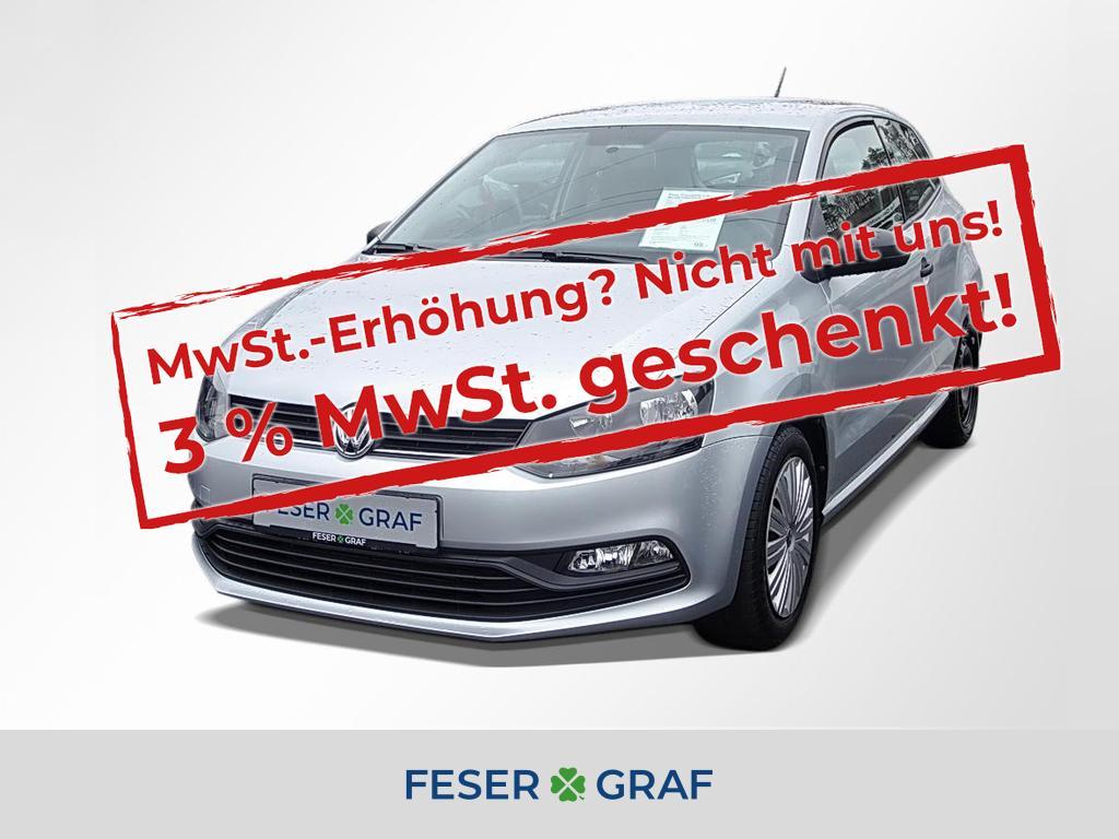 Volkswagen Polo Trendline 1.0 - BLUETOOTH,KLIMA, Jahr 2017, Benzin