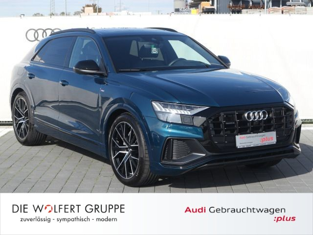 Audi Q8 S line 50 TDI quattro AHK+PANO+ALLRADLENKUNG, Jahr 2019, Diesel