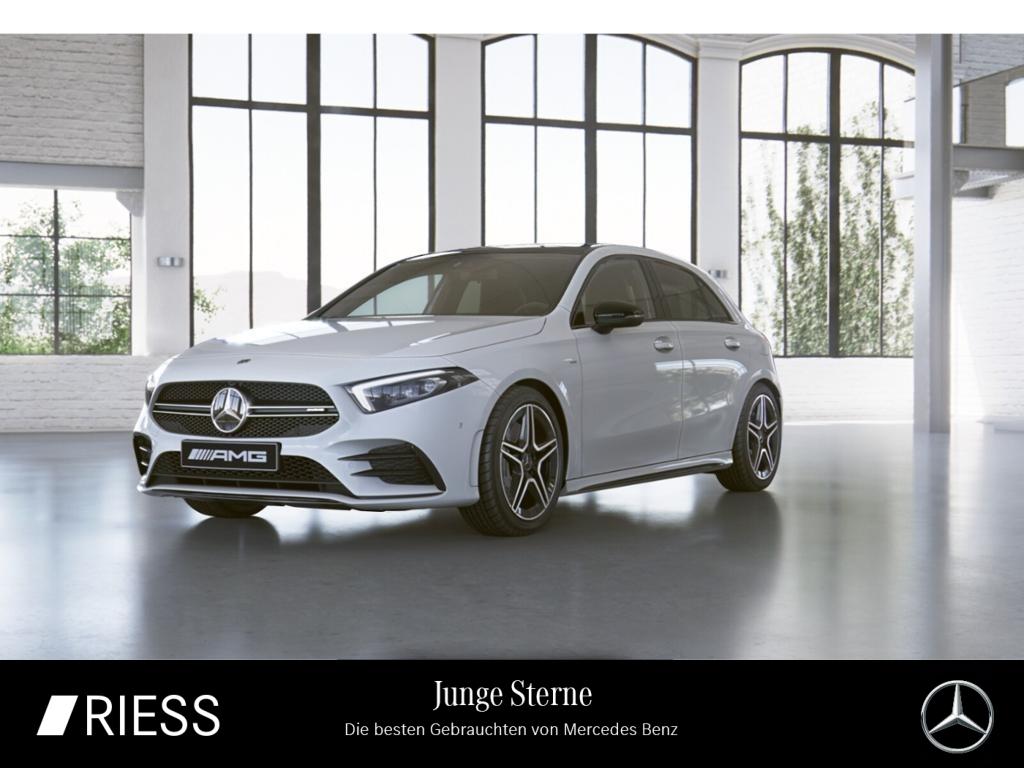 Mercedes-Benz A 35 AMG 4M Navi LED Pano Ambiente Kamera Design, Jahr 2019, Benzin